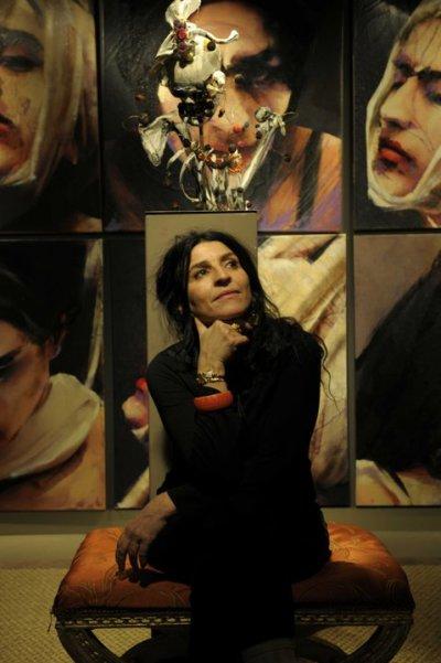 Lita Cabellut, new jury member of Figurativas 2015