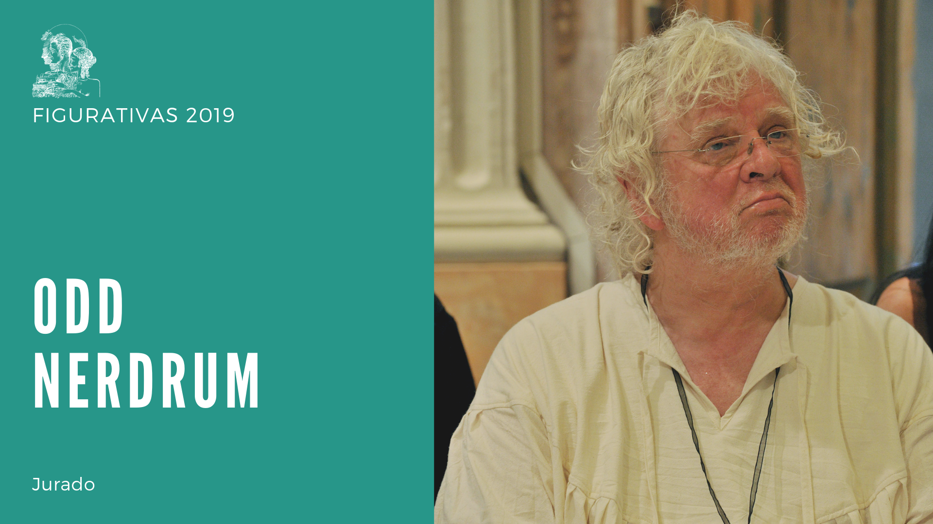 Odd Nerdrum, member of the jury of Figurativas 2019.