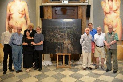 Painter Manuel Castillero Ramirez wins the eighth edition of Figurativas