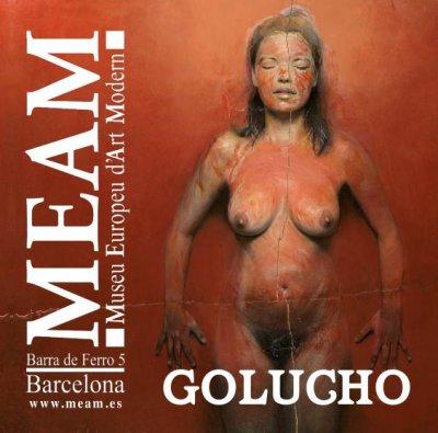 Ya se puede visitar la exposición de Golucho en el MEAM